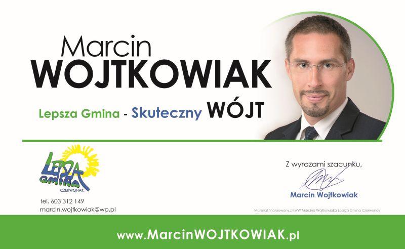 Marcin Wojtkowiak – kandydat na Wójta Gminy Czerwonak