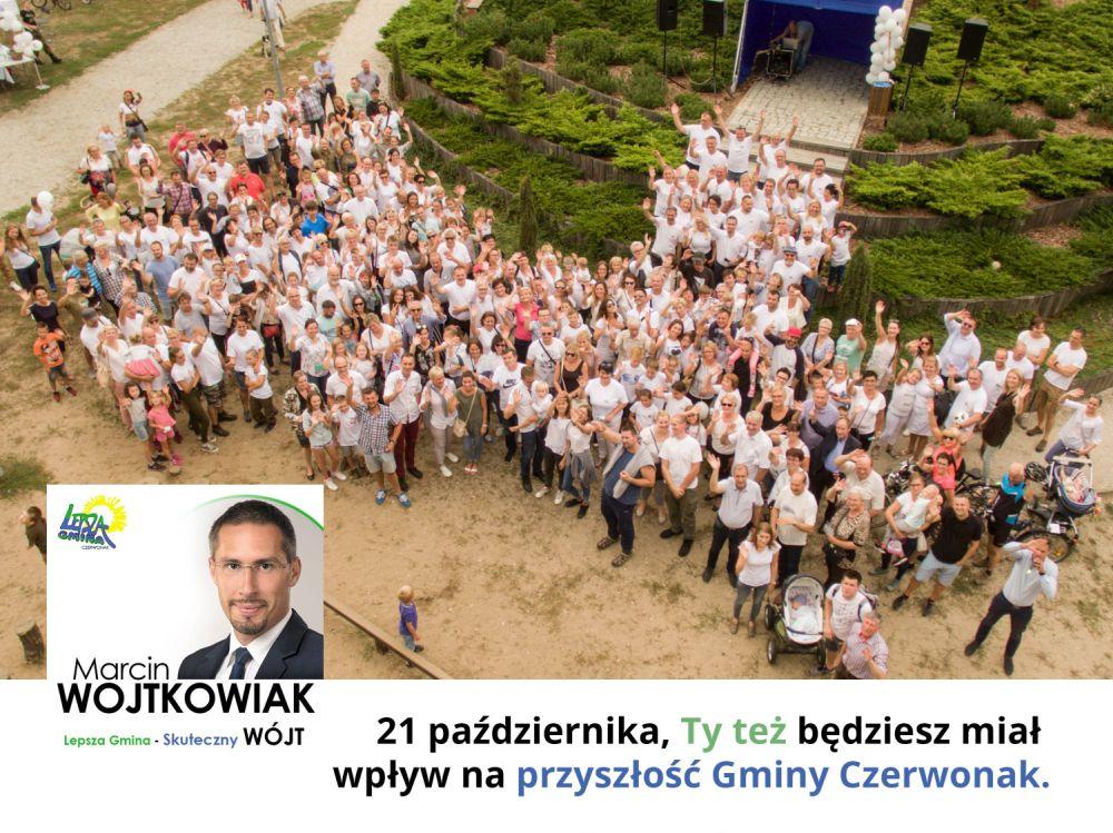 Festyn rodzinny inaugurujący kandydaturę Marcina Wojtkowiaka na Wójta Gminy Czerwonak